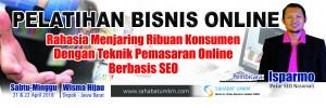 Pelatihan Bisnis Online April 2018